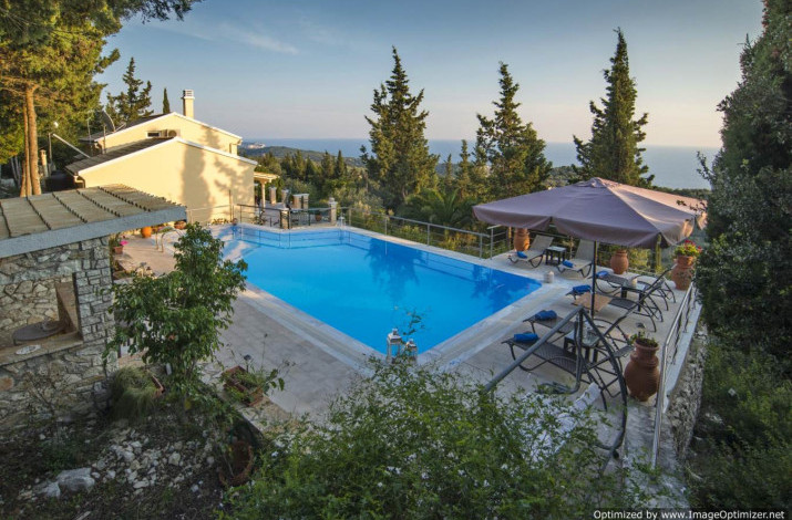 Villa Milos, Magazia