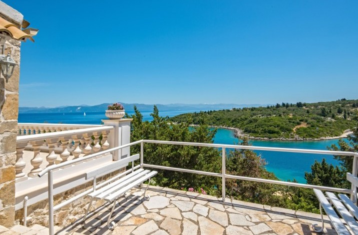 Villa Miramarina, Mongonissi Bay, Paxos