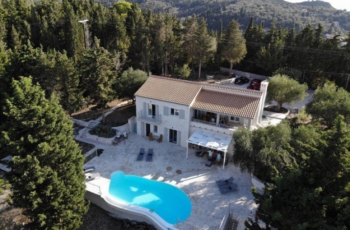 Villa Pamplemousse, Lakka. Paxos
